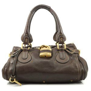 Auth Chloe Paddington Shoulder Bag #6352C90
